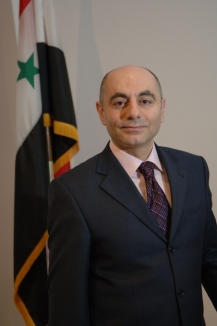 Dr. Imad Moustapha, Ambassador from Syria