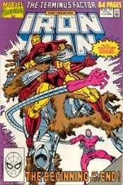 Iron Man Annual, 1990