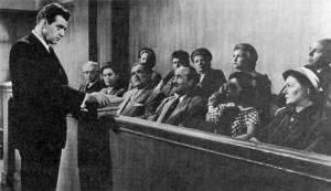 Perry Mason makes his case to 11 Angry Men...and Juror Number 7