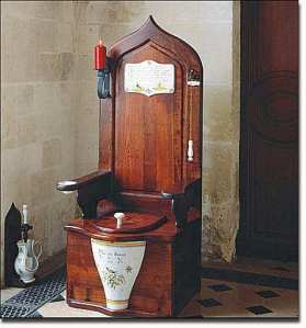 Vintage Potty from the Privy Chamber