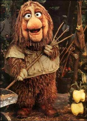 Junior Gorg of Fraggle Rock - Yep, he's in there!